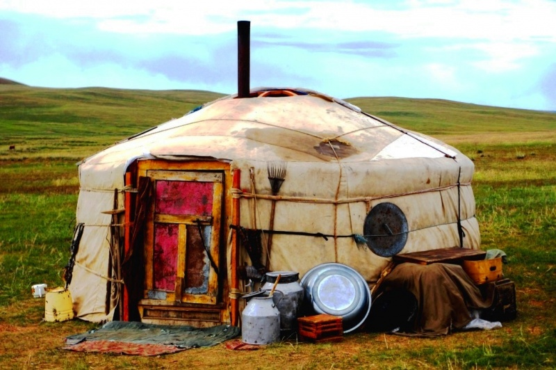 Reizen naar mongolie