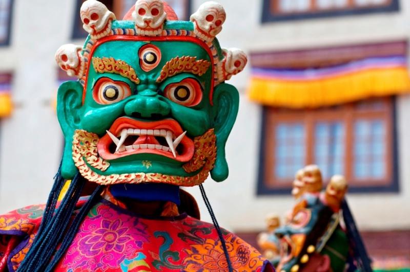 thimpu festival bhutan